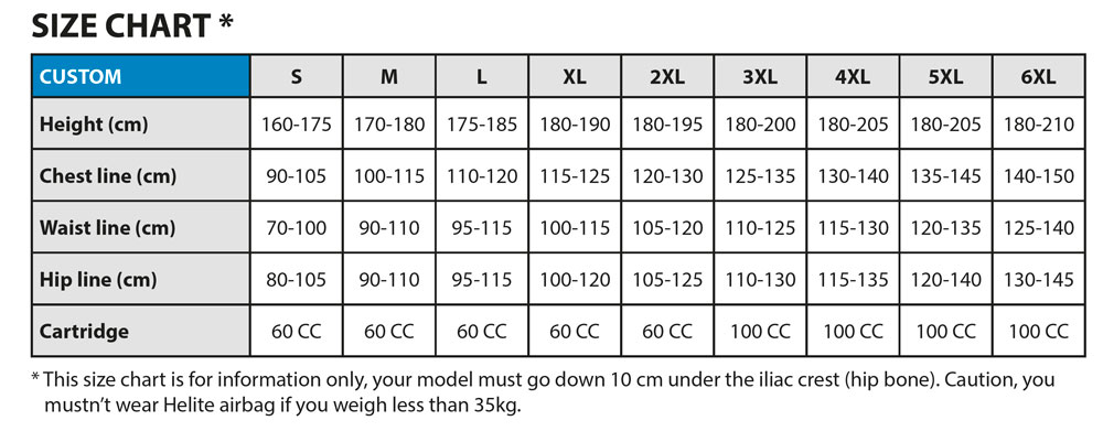 helite-custom-airvest-sizing-chart